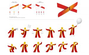 ubi banca rebranding mascotte design system