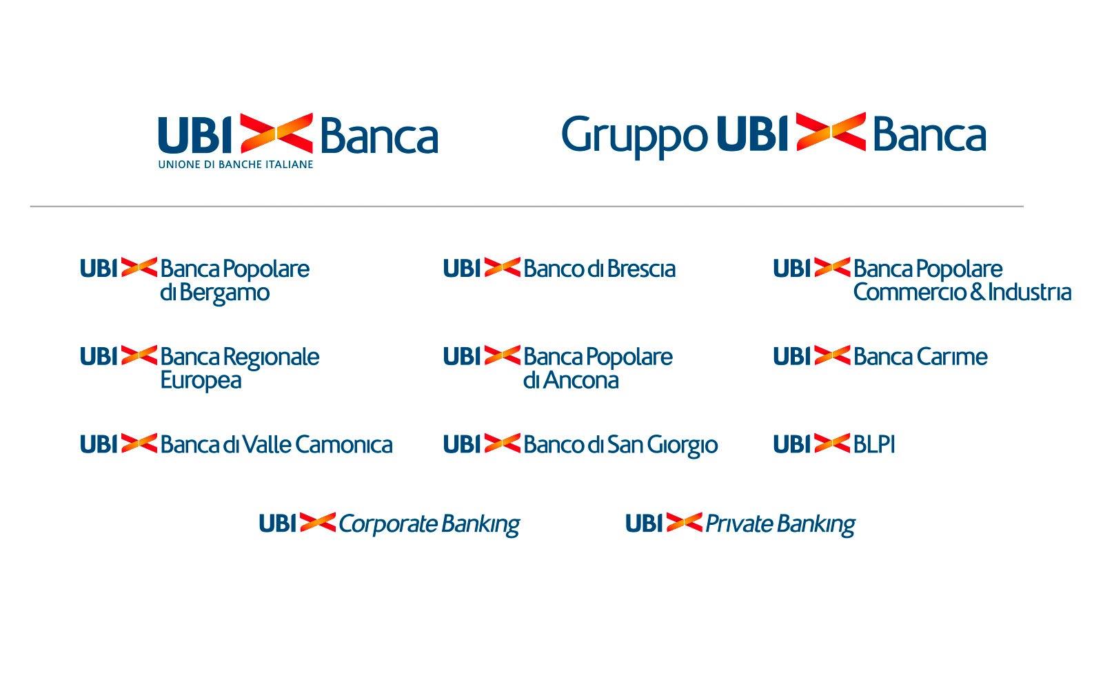 ubi banca rebranding brand architecture