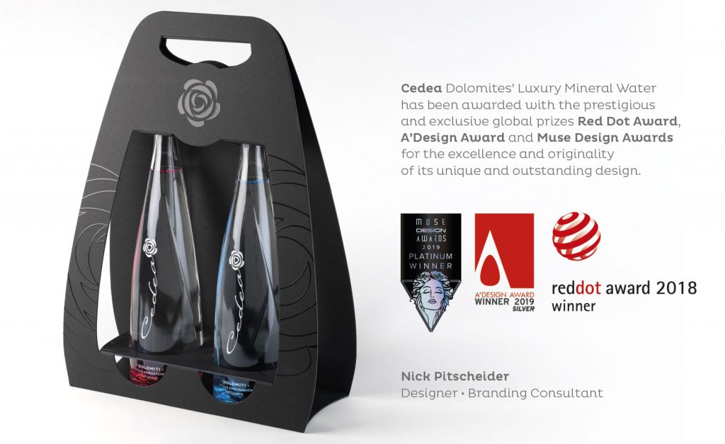 cedea nick nicola pitscheider design branding packaging award winning