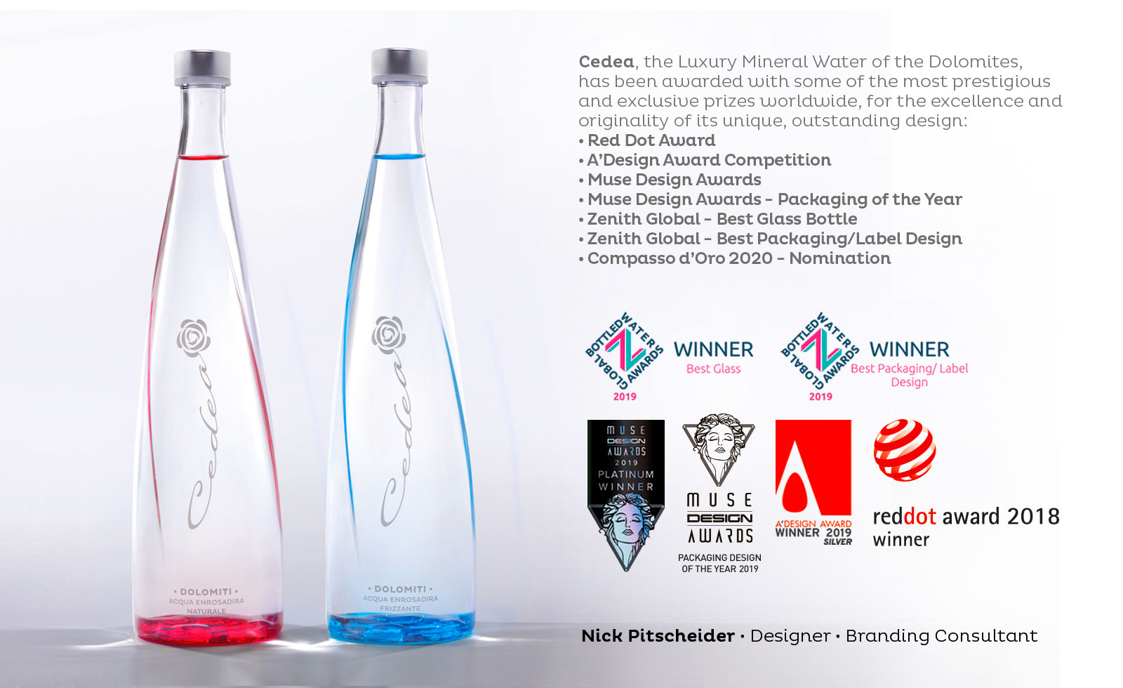 cedea packaging award awards prize nick nicola pitscheider design