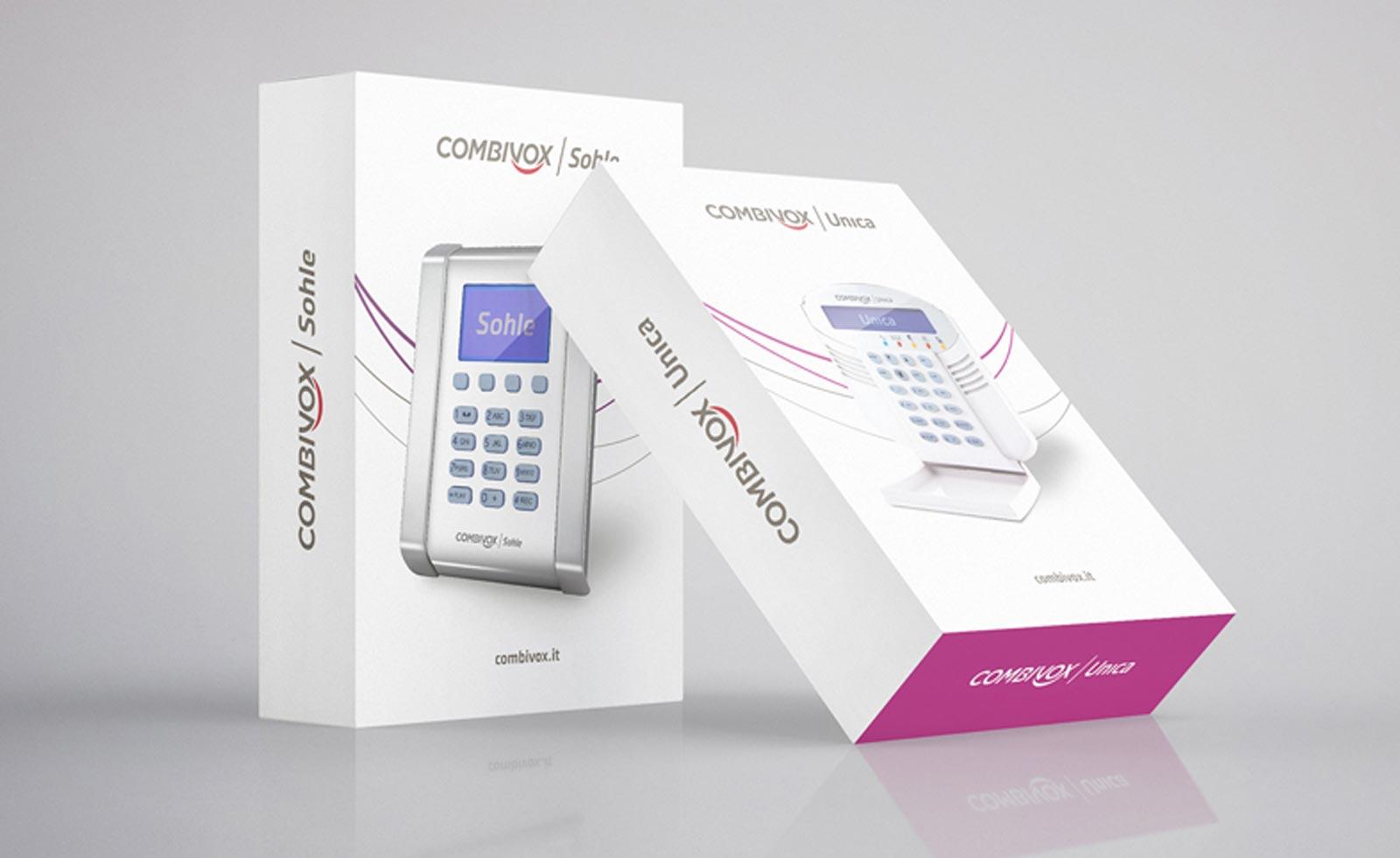 combivox brand packaging