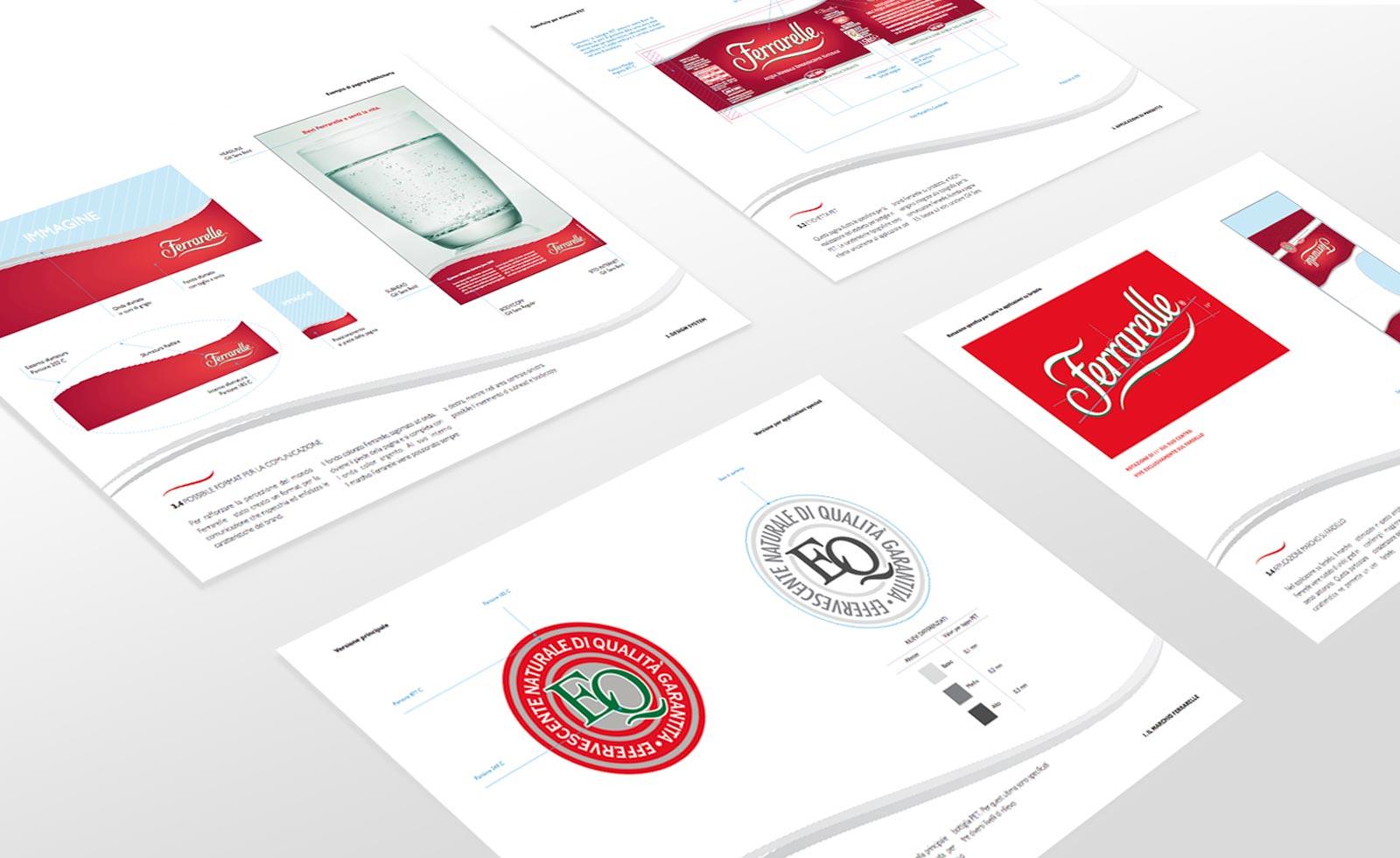 ferrarelle design guidelines rebranding