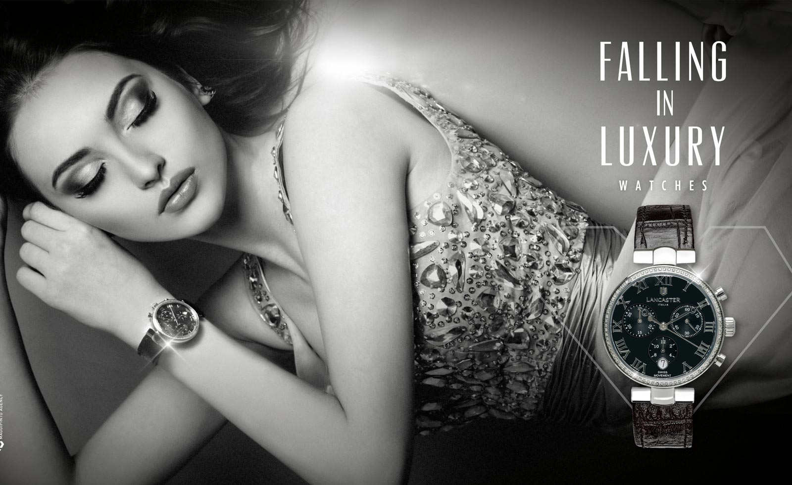 lancaster watches jewellery advertising campaign