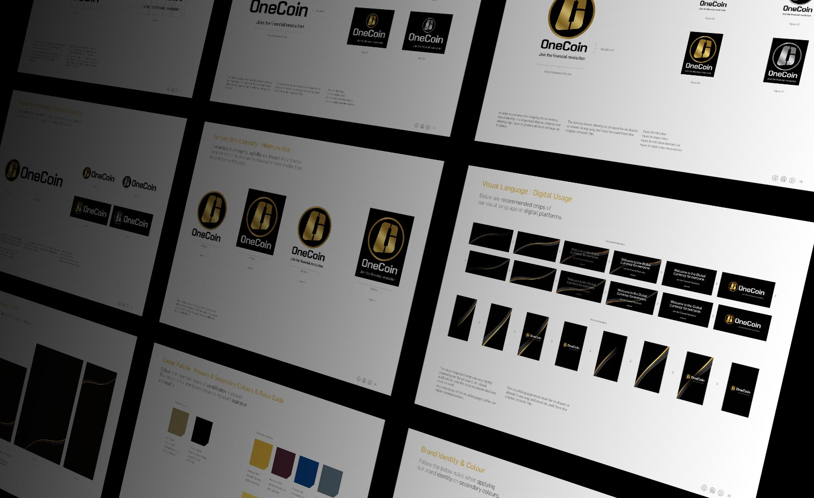 onecoin currency design guidelines