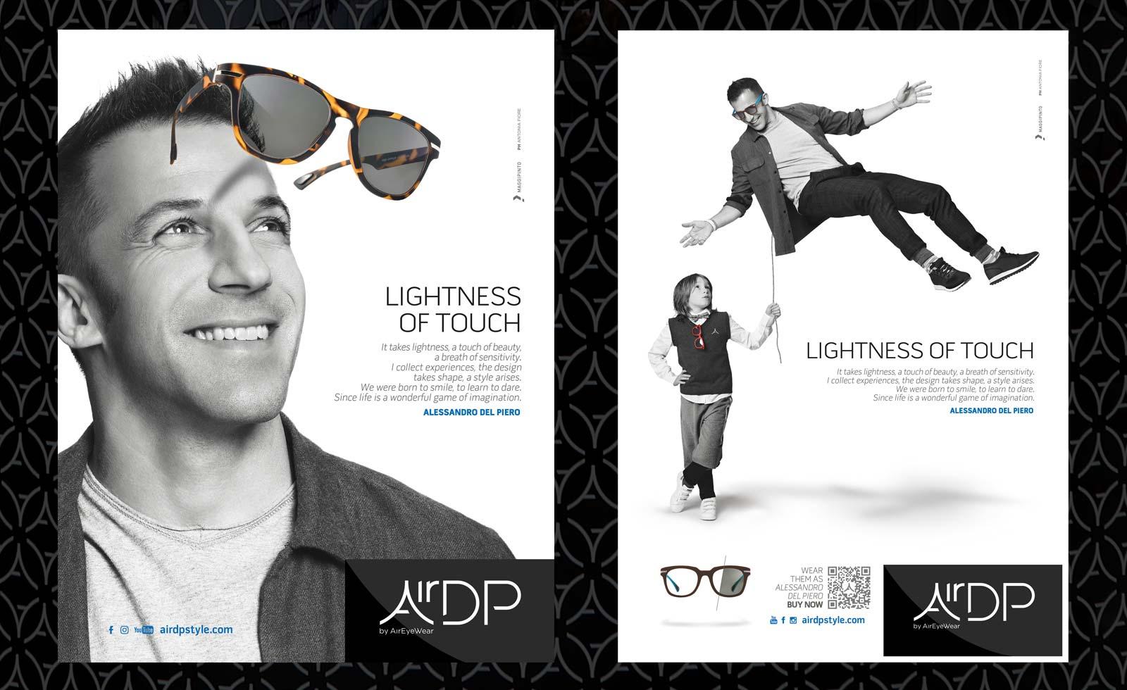 pubblicita maggipinto pitscheider airdp occhiali sunglasses