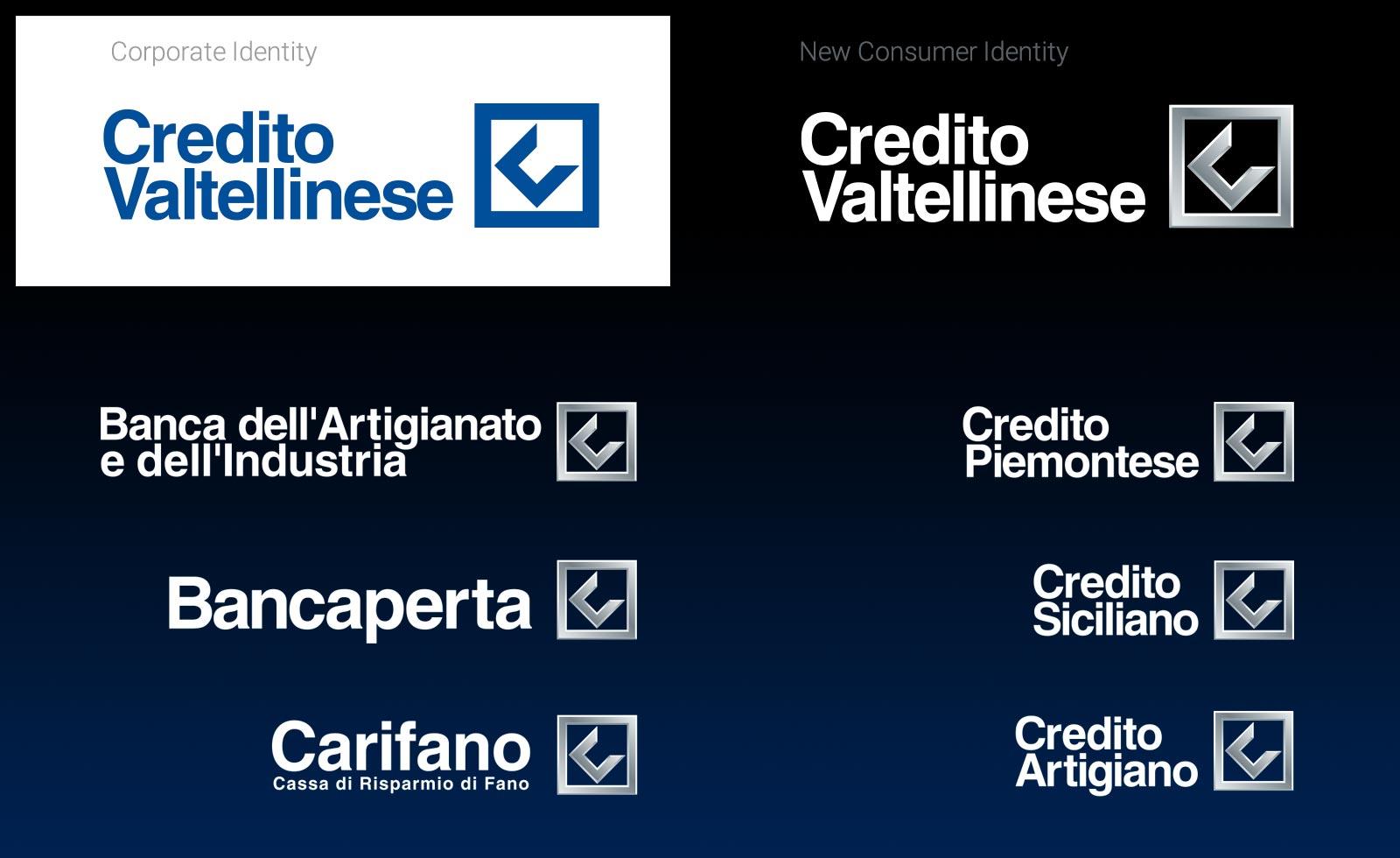 creval logo identity brand marchio pitscheider