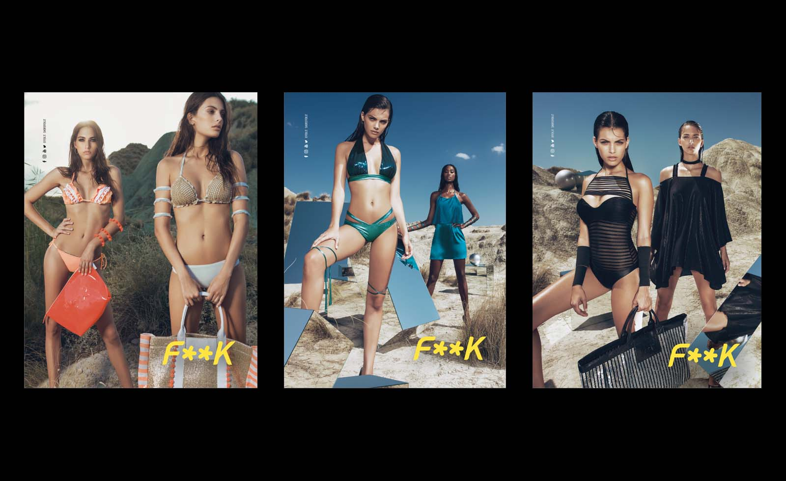 effek f**k swimwear advertising pitscheider maggipinto