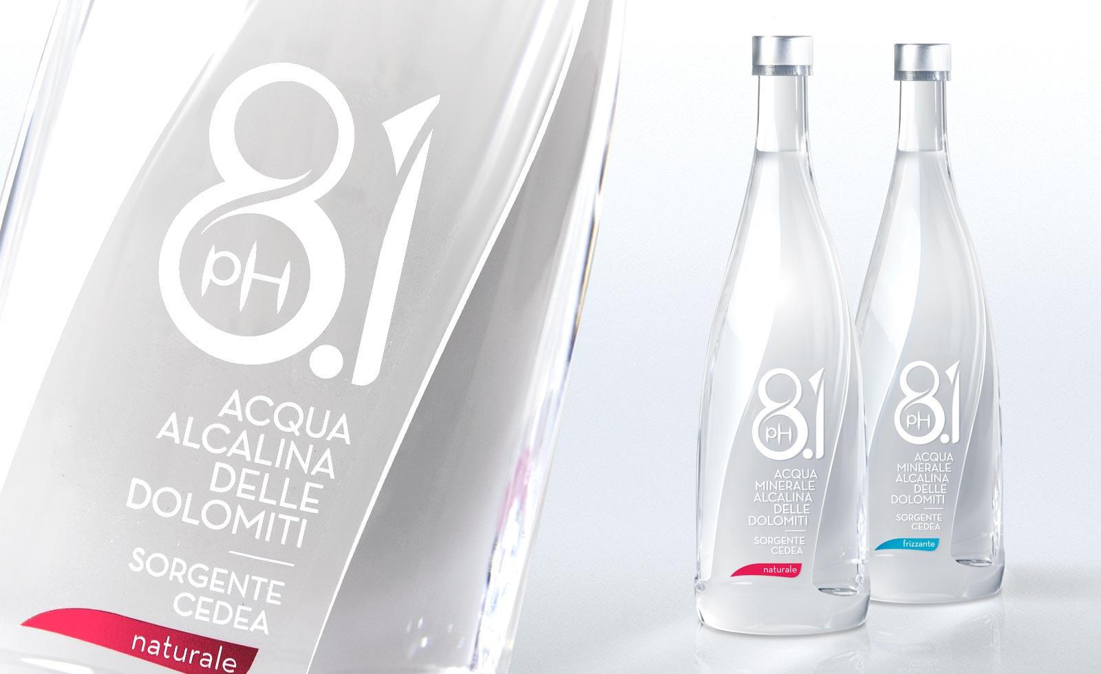 Cedea 8.1 dolomites mineral water